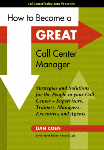 Great Call Center Manager cover 207x300 Call Center Flash Contests Drive Results
