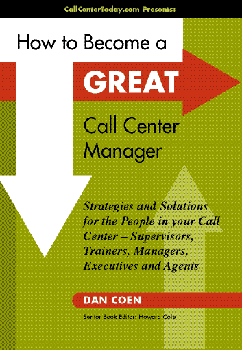 Great Call Center Manager cover Build An Amazing Inside Sales Center